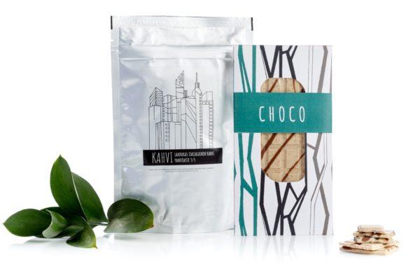 Herkkusetti suklainen kahvihetki, kaneli-valkosuklaa