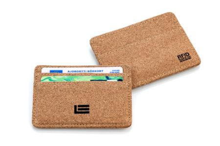 ECO-korkkisuojattu kapea RFID-lompakko