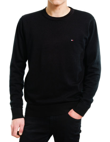 Tommy Hilfiger Core Cotton-Silk CNeck