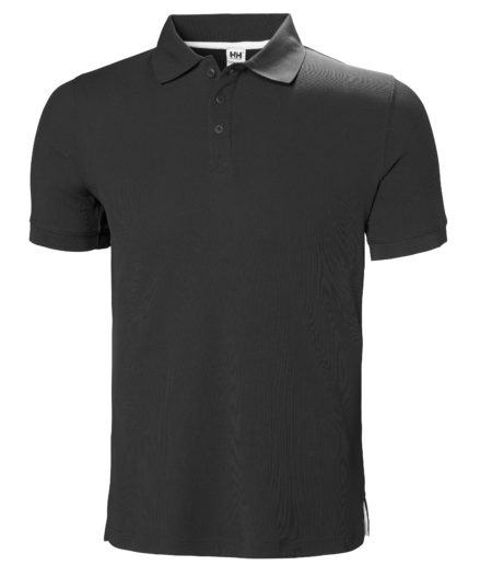 Helly Hansen Crewline Polo 980 ebony, M