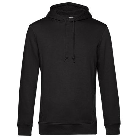Organic hooded black pure